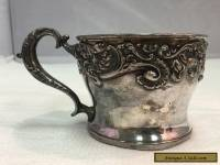 Superior Silverplate Cup, Shaving Mug
