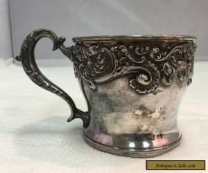 Superior Silverplate Cup, Shaving Mug for Sale