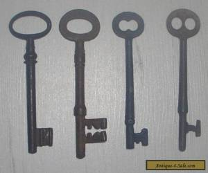 vintage iron keys ( c ) for Sale
