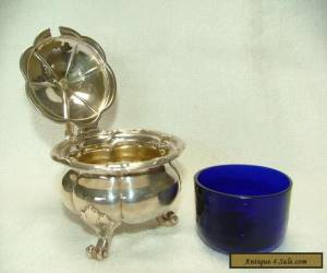 HALLMARKED PAUL STORR STERLING SILVER HEAVY MUSTARD POT DATED 1837 for Sale