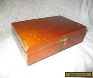 VINTAGE WOODEN BOX for Sale