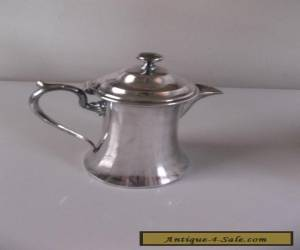 ANTIQUE SILVER PLATED COFFEE POT ENGLAND EPBM for Sale