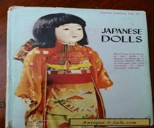 Antique Japanese Dolls Historical Survey Illustrated for Sale