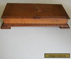 unusual large vintage State Express wooden cigarette/cigar box for Sale