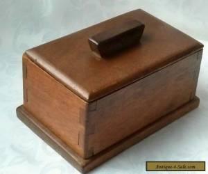 Vintage Art Deco Mahogany ? Box  for Sale