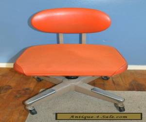 Vintage InterRoyal Royal Metal office chair, Mid-Century Modern for Sale