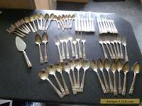 Antique/Vintage  63 piece community silver plated cutlery set. all matching