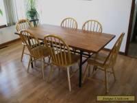 Dining Table/Desk. Vintage Industrial, Mid Century, reclaimed wood, rustic