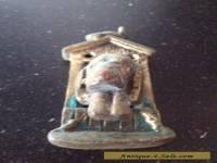Antique Solid Brass Feature Door Knocker Rare