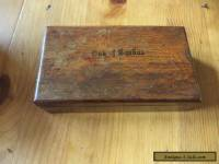 antique wooden box (DAMAGED)