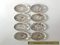FORNASETTI Mitolgoia SET 8 Coasters BONWIT TELLER Italy MINT