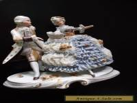 Nice Dresden made in Gremany Antique couple dance #20456