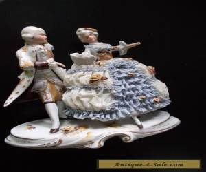Nice Dresden made in Gremany Antique couple dance #20456 for Sale