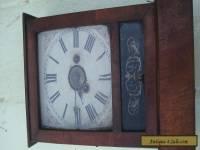 Antique Victorian cottage clock with alarm