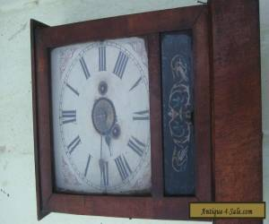 Antique Victorian cottage clock with alarm  for Sale