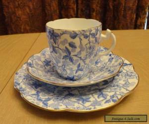 Antique Wileman & Co. Old Bramble Chintz Pattern Trio #49676 (Pre Shelley)   for Sale