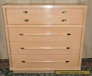 HOOKER MAINLINE TALL CHEST Mid Century Modern 4 Drawer Dresser VINTAGE for Sale
