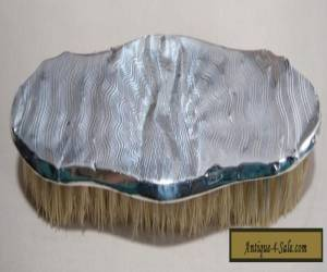 Vintage Ladies Sterling Silver Clothes Brush -Engine Turned- BROADWAY & CO 1931 for Sale