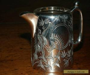 ANTIQUE STERLING SILVER CREAM JUG for Sale