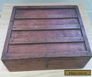 Antique Vintage Wooden Box for Sale