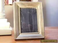 Antique Sterling Silver Photo Frame with felt back Birmingham 2004