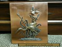 "ANTIQUE VINTAGE COPPER ""WALL ART"""