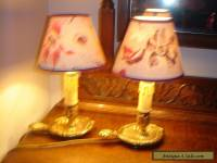 A pair of vintage French table lamps