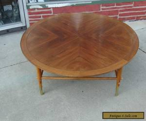 """Vintage Mid Century Modern Large 48"""" Walnut Coffee table by Lane  for Sale"""