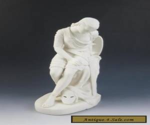 Large 1848 MINTON John Bell Parian Model of Clorinda Antique Porcelain Figurine for Sale