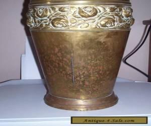 Brass vase for Sale