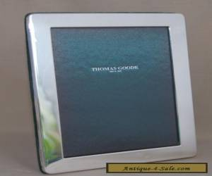 Sterling Silver Photo Frame for Thomas Goode London (Kitney & Co 2005) 12x15.5cm for Sale