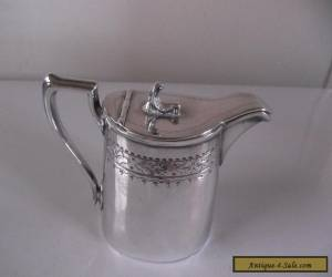 VINTAGE SILVER PLATE CREAM MILK JUG PHILIP ASHBERRY & SONS EPBM ENGLAND for Sale