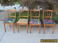 4 Mid Century Modern Drexel Dining Chairs