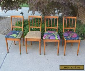 4 Mid Century Modern Drexel Dining Chairs for Sale