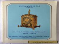1981 Clock, Watches and ..Table Clocks Sotheby Catalogue 325 with estimates