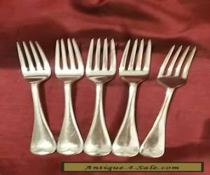 Antique Silver Plated Forks for Sale