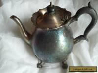 Antique vintage Martin hall 1929 silver tea pot
