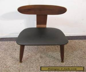 MID CENTURY DANISH MODERN FREE SPACE SIDE DESK OFFICE CHAIR #2 -- GREAT FIND!!! for Sale