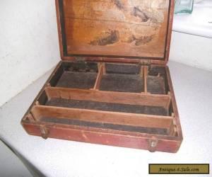 ANTIQUE / VINTAGE WOODEN COLLECTORS/ SPECIMEN / STORAGE CASE / BOX for Sale
