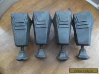 4 x Vintage Art Deco Bath Feet (Magna)