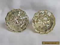 GLASS DOOR KNOBS - ANTIQUE