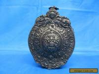 Vintage Tibetan Silver Metal Flask Repousse Design