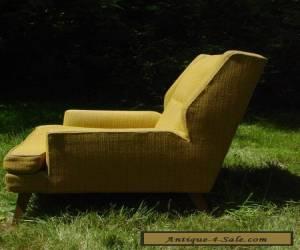 VINTAGE 1950S ARM CHAIR MUSTARD MCCOBB DUNBAR MID-CENTURY MODERN for Sale