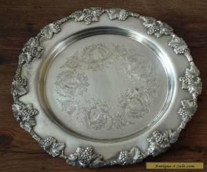 Strachan Silver Plate Tray for Sale