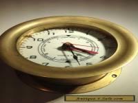 Tide Clock Time Only Ship's Clock Style Quartz Movement