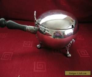 Vintage Victorian Silver Plated Lidded Tureen Wooden Handle William Hutton for Sale