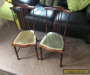 Pair of 1920s Antique Children's Chairs  for Sale