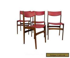 Danish Modern Mid Century Rosewood Dining Chairs for Sale