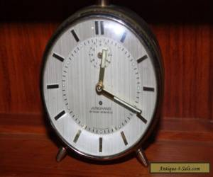 Junghans Silentic Trivox Vintage German Alarm Clock. Art Deco  for Sale