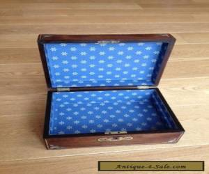 Antique Work Box with MOP Inlay for Sale
